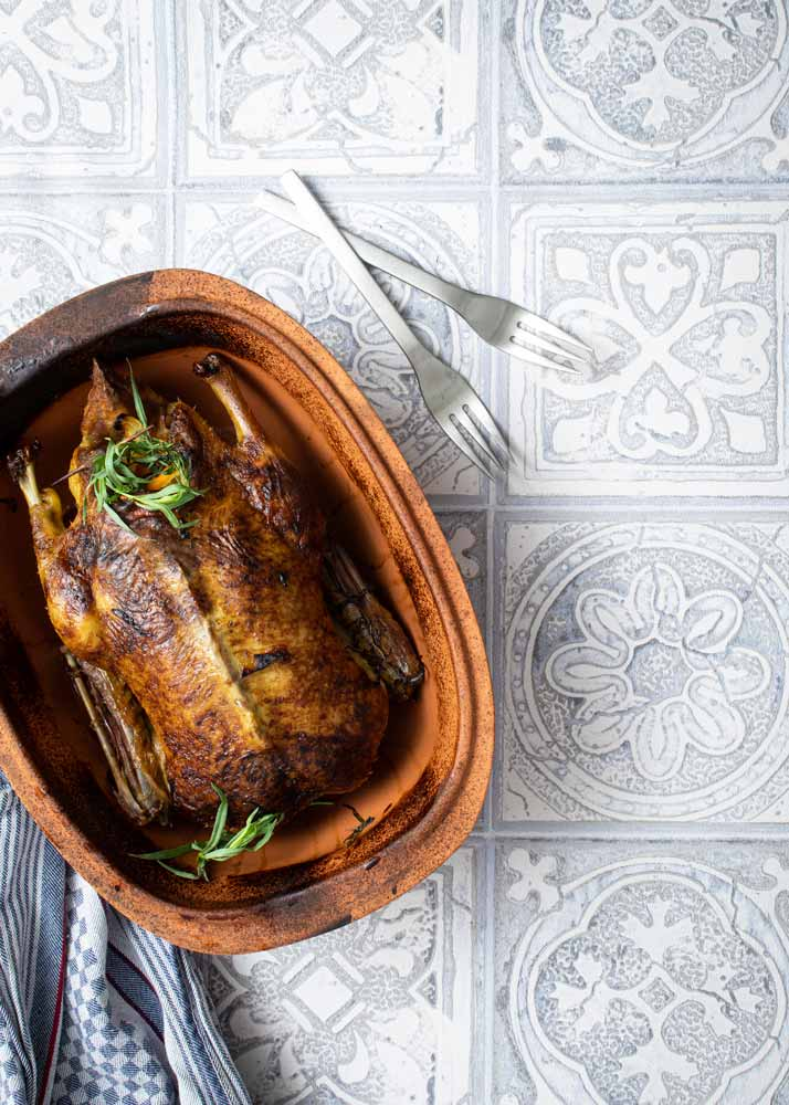 Ente aus dem Römertopf Rezept
