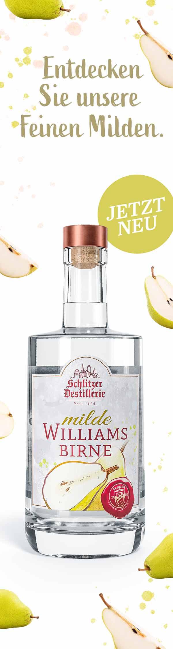 Schlitzer Destillerie Milde Birne