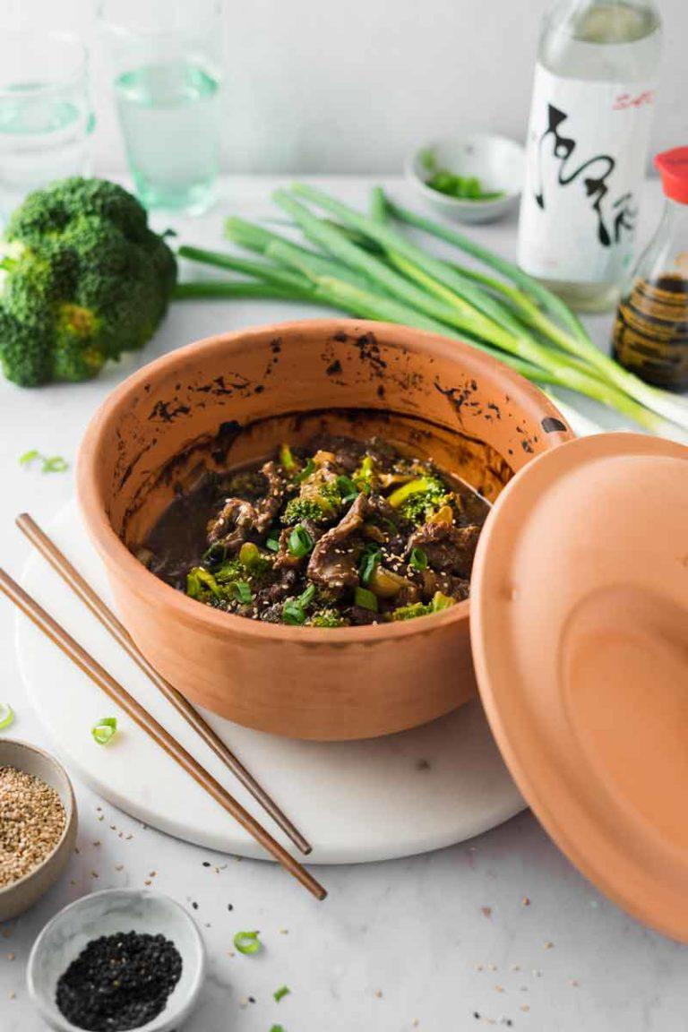 Asia Rind aus dem Römertopf Rezept