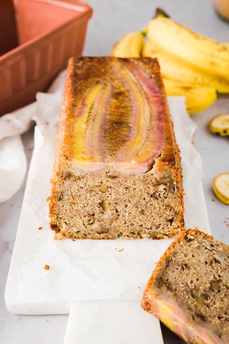 Upside Down Bananenkuchen aus dem Römertopf Rezept